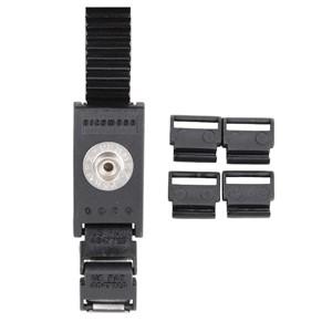 04545-SLIM ERGOBAND WRIST BAND ADJUSTABLE 7MM METAL BLACK