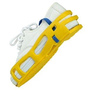 04566-STAT-A-REST FOOT GROUNDER, PAIR, LARGE, YELLOW