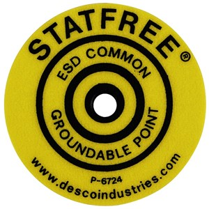 06721-LABEL, GROUNDABLE POINT, ROUND PACK OF 10