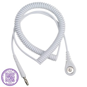 09209-CORD, COIL, JEWEL, MAGSNAP,  WHITE, 10', CLEAN PACK