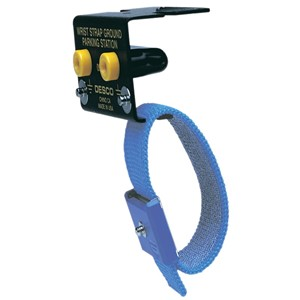 09741-GROUND, WRIST STRAP, BENCH MOUNT, W/PARKING STATION