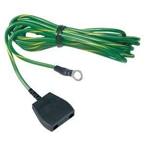 09825-CORD, COMMON GROUND, 10 MM STUD, NO RESISTOR, 15'