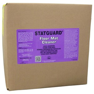 10445-STATGUARD FLOOR MAT CLEANER, 5 GAL BOX