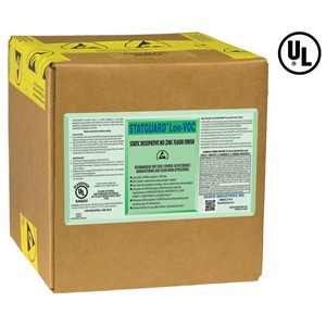 STATGUARD LOW-VOC FLOOR FINISH, 5.0 GAL
