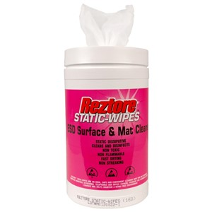10600-WIPES, REZTORE, ANTISTATIC CANISTER OF 160