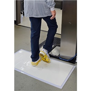 11173-MAT, STICKY, WHITE, 24''x36'', 30 SHEETS PER MAT, 8 PER CASE