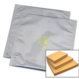 13344-BAG, STATSHIELD, METAL-IN, 4''x4'', 100 EA/PK