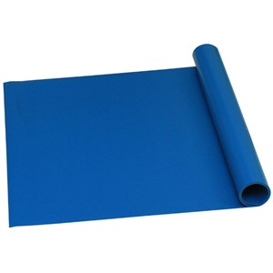 16317-ROLL, TRUSTAT B80, VINYL, BLUE, 0.080'' x 30 IN x 50 FT