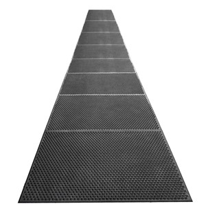 40938-RUNNER, STATFREE i, CONDUCTIVE , BLACK, 0.625IN x 3FT x 20FT