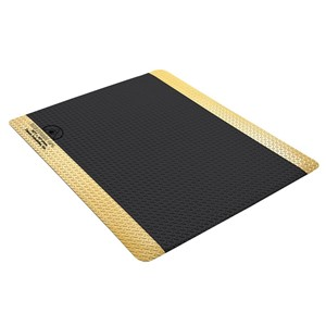 40981-MAT, STATFREE DPL PLUS  COND BLACK VINYL, 0.45INx36INx60IN