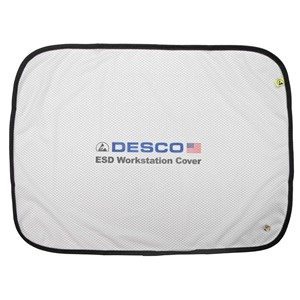 """41402-ESD WORKSTATION COVER, 48"""" x 48""""  WHITE 9%"""