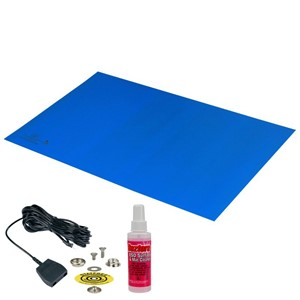 42552-MAT, STATFREE Z2, 3-LAYER VINYL, BLUE, 0.125''x30''x72''