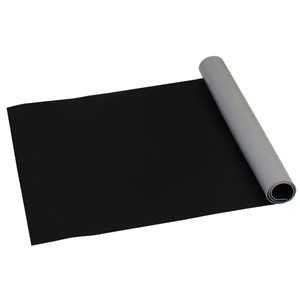 42540-ROLL, STATFREE Z2, 3-LAYER VINYL, BLACK, 0.125''x24''x50'
