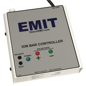 CONTROLLER, ION BAR, LINEAR, RECESSED POT ADJUSTMENT, 220V