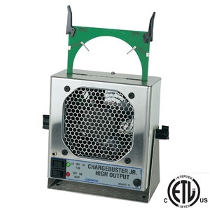 60501-JR IONIZER WITH CASSETTE, 120VAC, WITH HEATER NIST