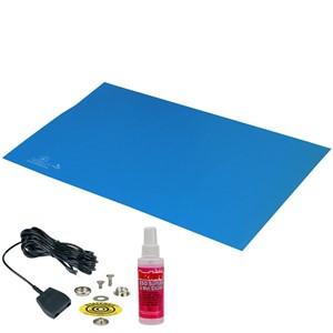 66045-MAT, STATFREE T2, RUBBER, BLUE, 0.060'' x 24'' x 48''