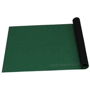 ROLL, STATFREE T2, RUBBER, GREEN, 0.060IN x 48 IN x 24FT