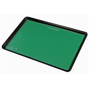 66128-MAT TRAY LINER, STATFREE T2, RUBBER, GREEN,  16 IN x24 IN
