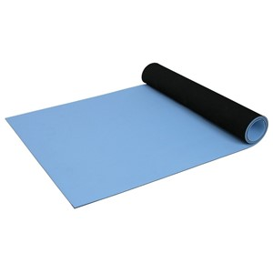 66320-STATFREE UC2 2-LAYER RUBBER, SKY BLUE, 0.080''x30''x40'