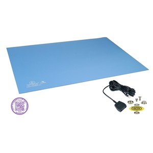 66327-STATFREE UC2 2-LAYER RUBBER, 0.080''x24''x36'', CLEAN PACK