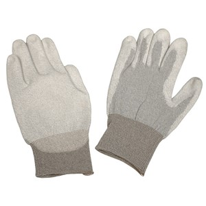 68127-GLOVE,DISSIPATIVE,POLYURETHANE COATED NYLON, LARGE