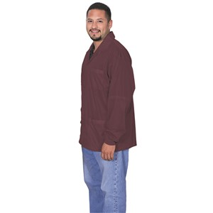 73903-SMOCK, STATSHIELD, JACKET, CUFFS, BURGUNDY, LARGE
