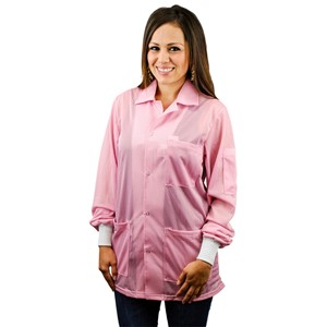 74203-SMOCK, STATSHIELD, JACKET, KNITTED CUFFS, PINK, LARGE