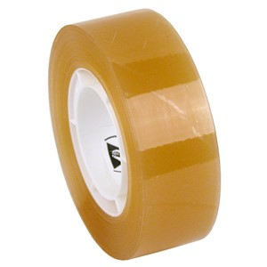 TAPE, WESCORP, CLEAR, ESD, 3/4IN x 36YDS, 1IN CORE