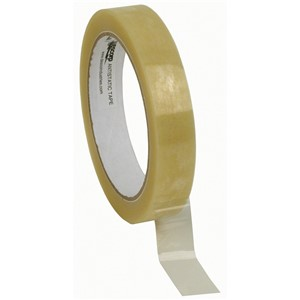 81224-TAPE, WESCORP, CLEAR, ESD, 3/4IN x 72YDS, 3IN PAPER CORE