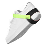 W7853R-FOOT GROUND, HEEL, NOSTAT, LIME GREEN, 1MEG, UL LISTED