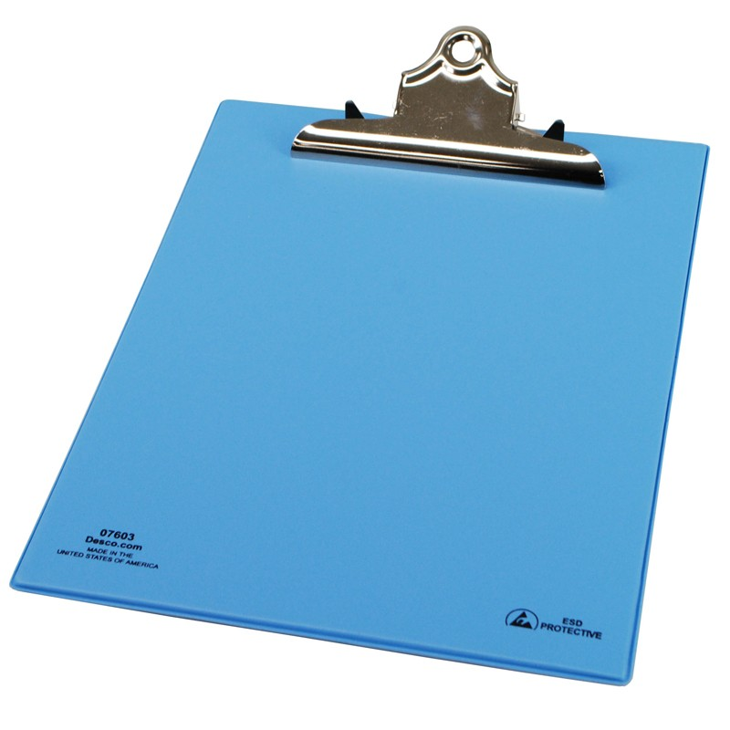 07603-ESD SAFE CLIPBOARD, 9-1/4'' x 12-1/2''
