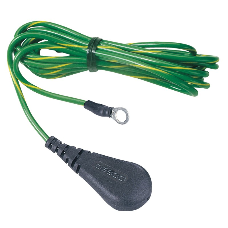 09817-CORD, GROUND, FLOOR, 10 MM SOCKET, NO RESISTOR, 10'