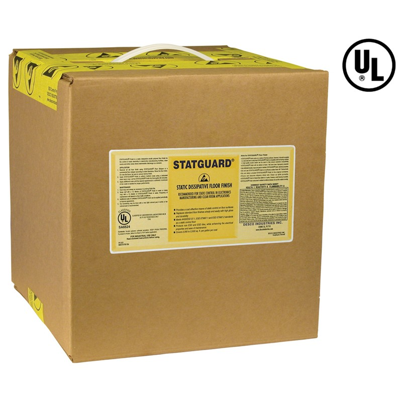 10512-FINISH, FLOOR, STATGUARD 5 GAL BOX