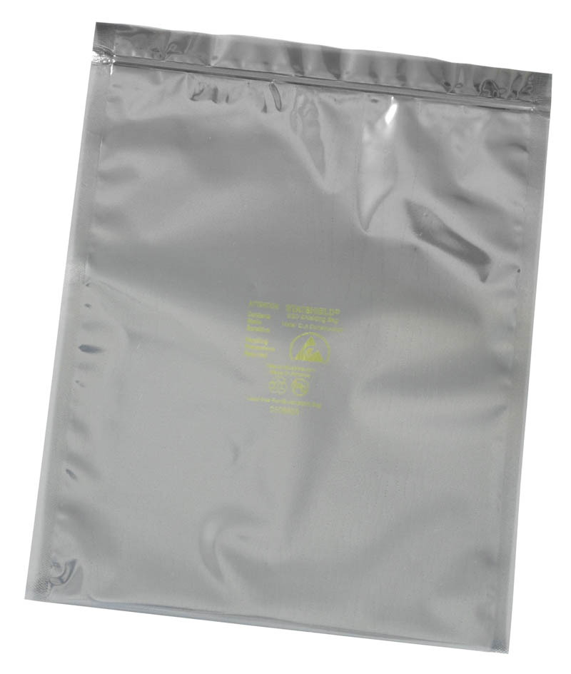 13262-BAG, STATSHIELD, METAL-OUT, ZIP 8IN x 10IN, 100 EA/PACK