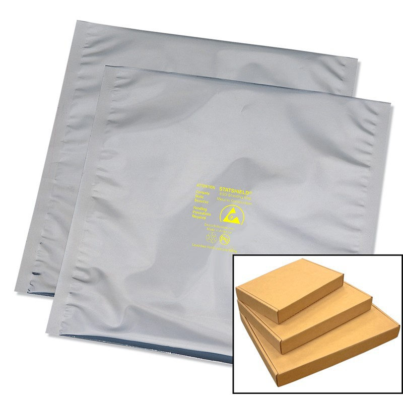 13332-BAG, STATSHIELD, METAL-IN, BOXED, 6IN x 8IN, 100 EA/PK