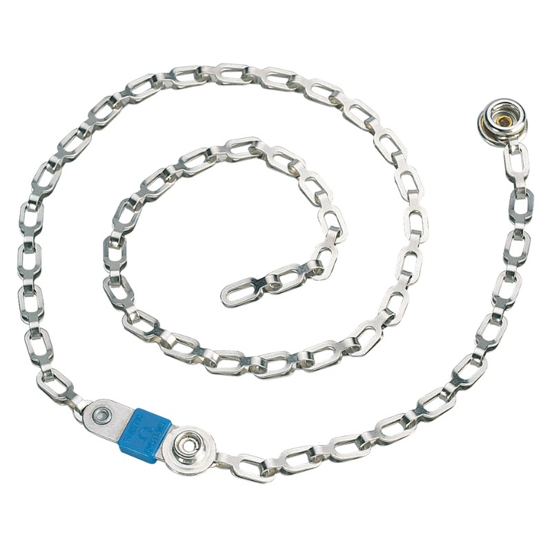 14000-DRAG CHAIN, GROUNDING, 1 MEGOHM, 7MM, 24''