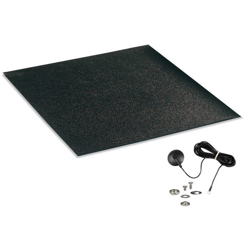 15013-MAT, STATFREE CV280, BLACK, CONDUCTIVE, 0.080''x36''x48''