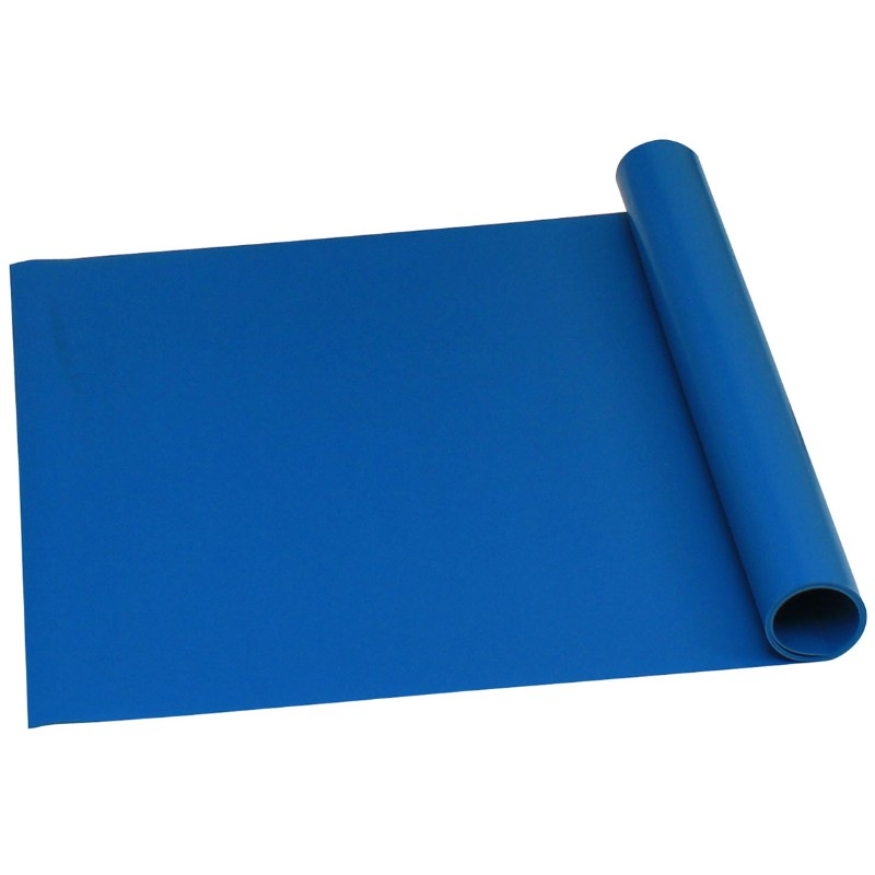 16319-ROLL, TRUSTAT B80, VINYL, BLUE, 0.080'' x 48 IN x 50 FT