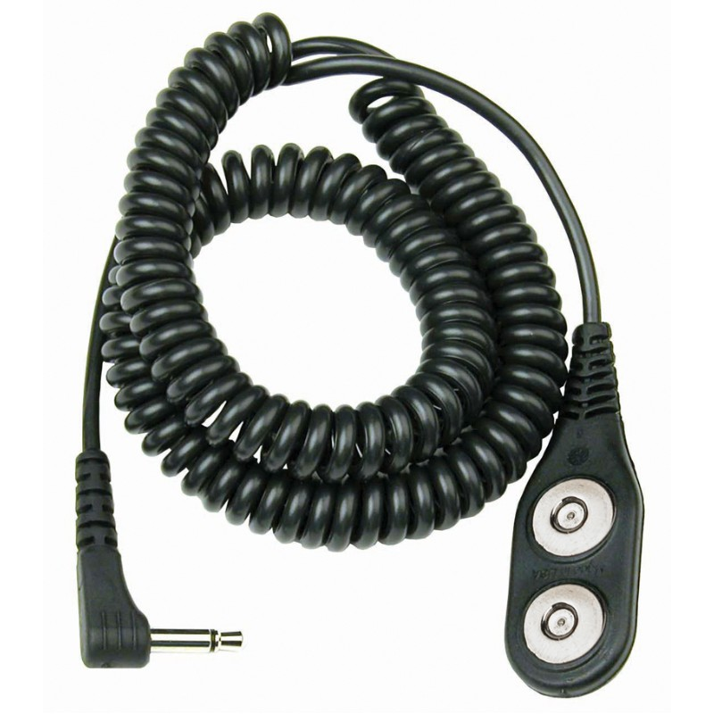 19821-MAGSNAP COIL CORD, JEWEL, DUAL, ONYX, 12', ANGLE