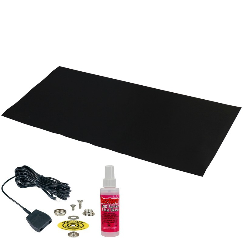 42542-MAT, STATFREE Z2, 3-LAYER VINYL, BLACK,0.125''x24''x48''