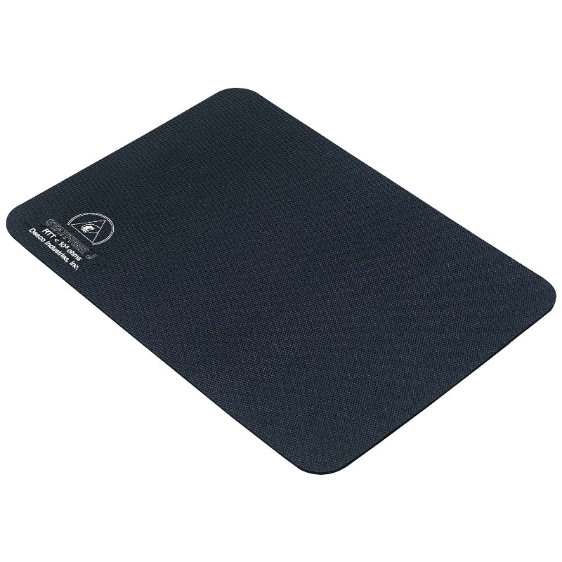 45010-MAT, STATFREE J , FOAM RUBBER, BLACK, 0.125IN x 16 IN x 24 IN