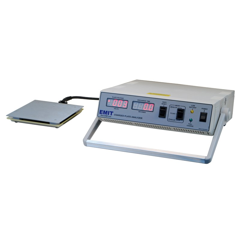 50571-CHARGED PLATE ANALYZER, 6''x6'',AC ADAPTER, CARRY CASE