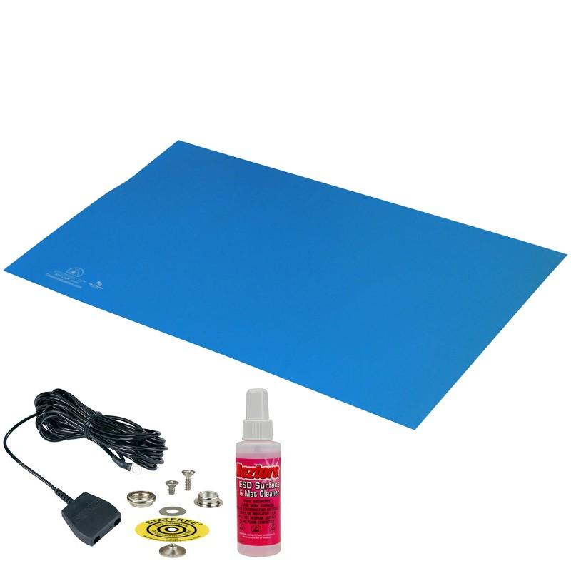 66040-MAT, STATFREE T2, RUBBER, BLUE, 0.060'' x 24'' x 36''