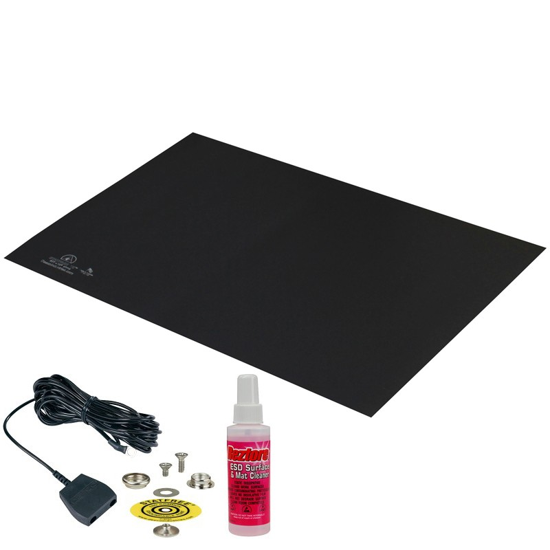 66050-MAT, STATFREE T2, RUBBER, DARK GREY, 0.060'' x 24'' x 36''
