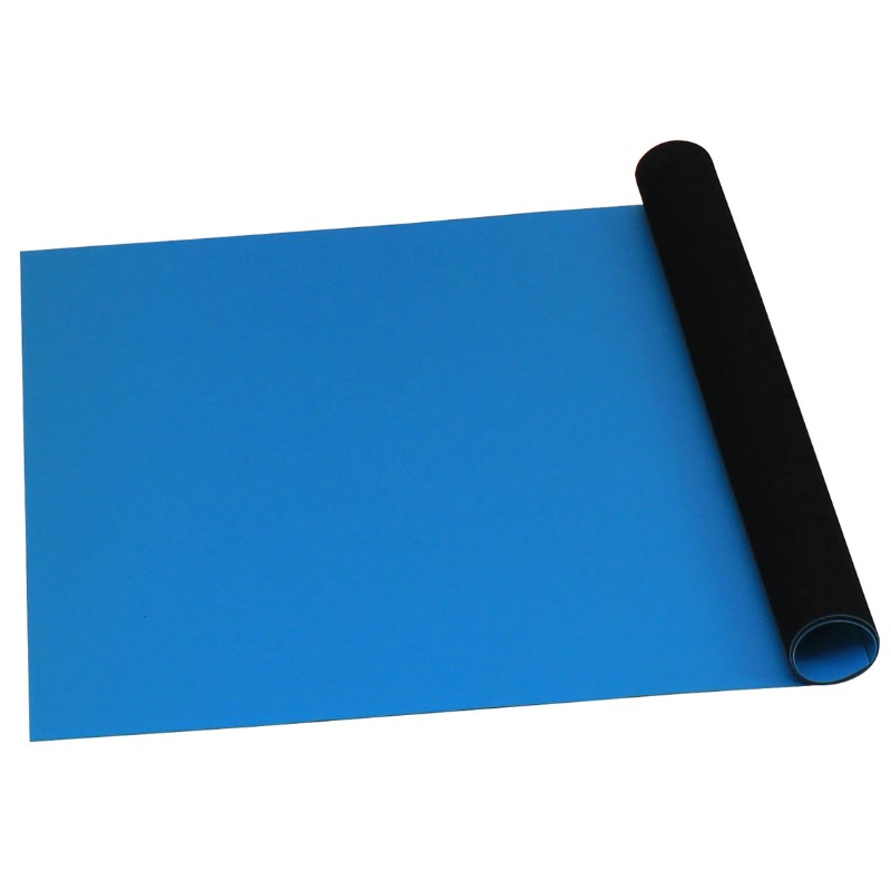 66070-ROLL, STATFREE T2, RUBBER, BLUE, 0.060'' x 24'' x 40'