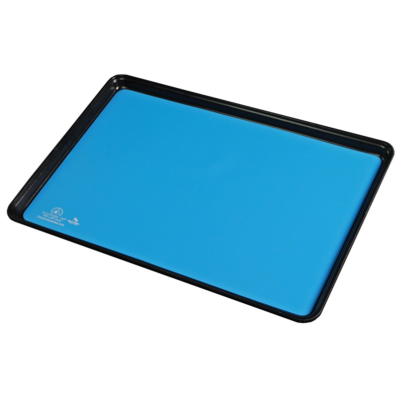 66125-MAT TRAY LINER, STATFREE T2, RUBBER, BLUE, 16 IN x24 IN