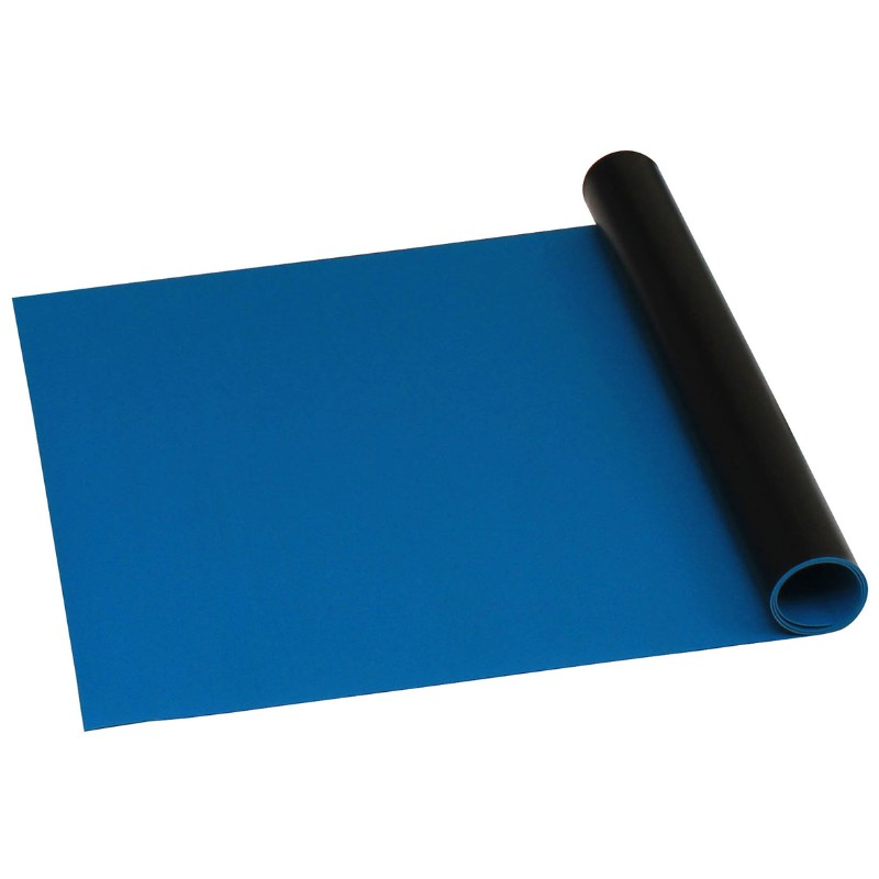 66160-ROLL, STATFREE B2 VINYL, DARK BLUE, 0.060''x24''x50'