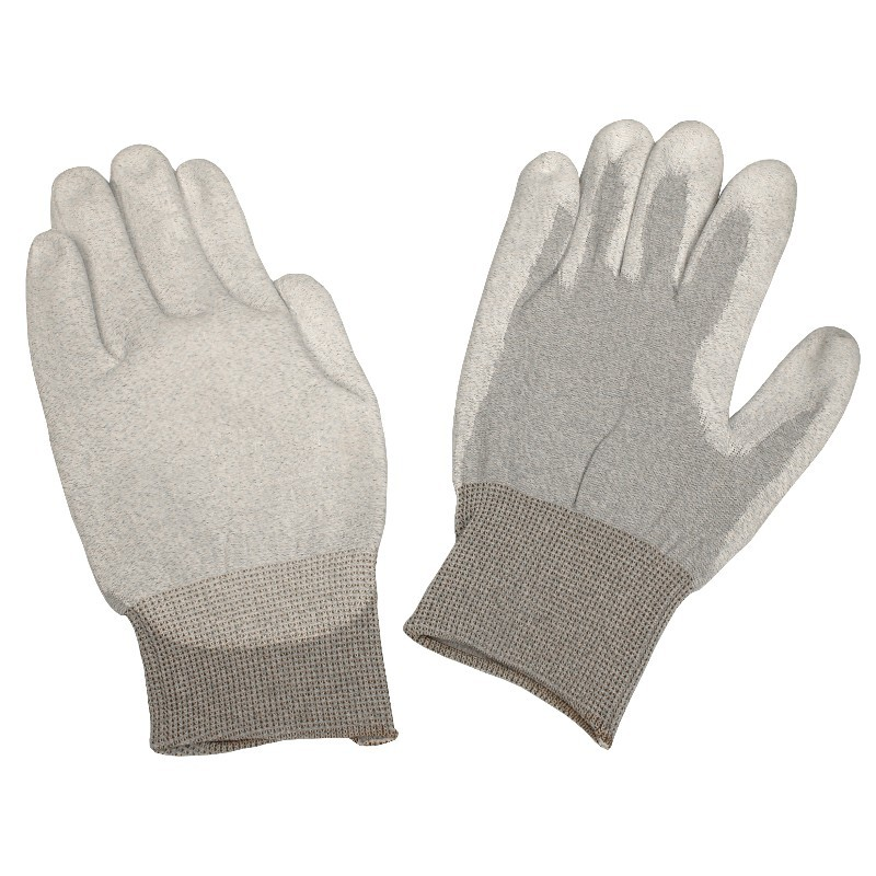68126-GLOVE,DISSIPATIVE,POLYURETHANE COATED NYLON, MEDIUM