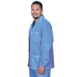 73774S-SMOCK, STATSHIELD, JACKET,  KNITTED CUFFS, BLUE, 6XLARGE