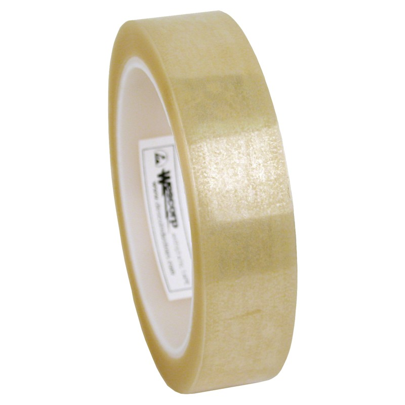 79205-TAPE, WESCORP, CLEAR, ESD, 1IN x 72YDS, 3IN CORE